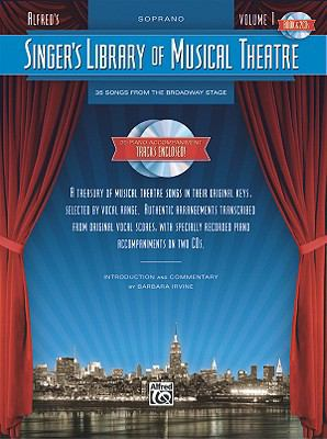 Singer's Library of Musical Theatre Soprano Voice  2009 edition cover