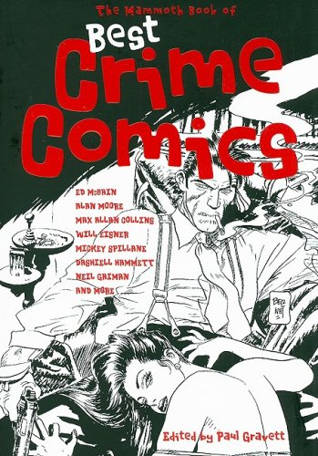 Mammoth Book of Best Crime Comics  N/A edition cover