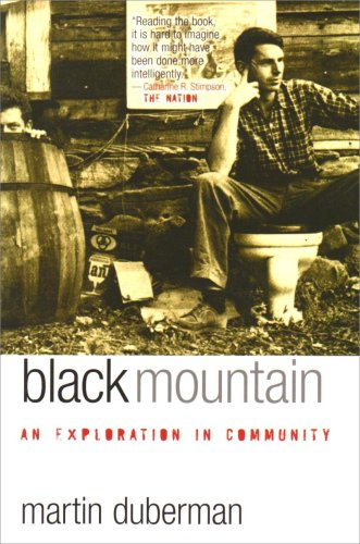 Black Mountain An Exploration in Community  2009 edition cover