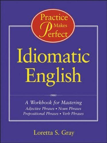 Idiomatic English   2000 (Workbook) edition cover