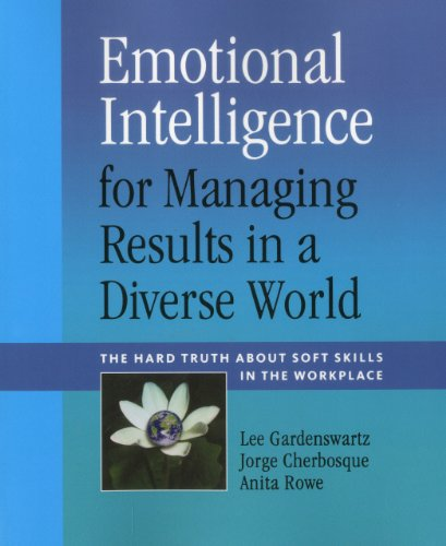Emotional Intelligence for Managing Results in a Diverse World  N/A edition cover