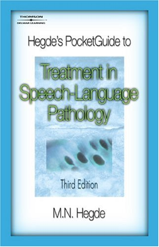 Treatment in Speech-Language Pathology  3rd 2008 (Revised) edition cover