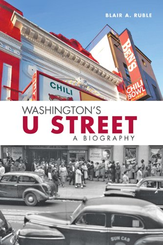 Washington's U Street A Biography N/A 9781421405940 Front Cover
