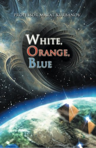 White, Orange, Blue   2013 9781490715940 Front Cover
