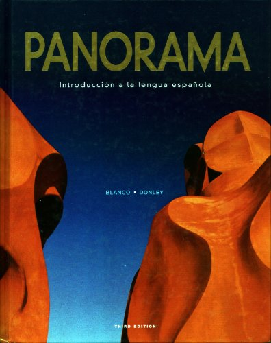 Panorama With Supersite Passcode 3rd 2009 (Student Manual, Study Guide, etc.) edition cover