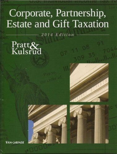 CORP.,PARTNERSHIP...TAX.2014 ED.-W/CD   N/A edition cover