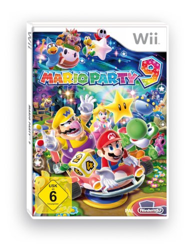MARIO PARTY 9 Nintendo Wii artwork