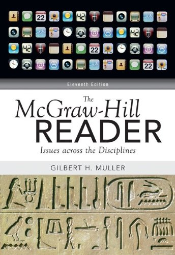 McGraw-Hill Reader Issues Across the Disciplines 11th 2011 edition cover