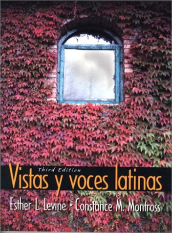 Vistas y Voces Latinas  3rd 2002 edition cover