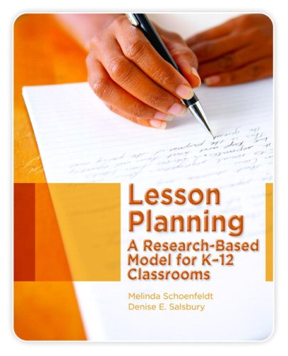 Lesson Planning A Research-Based Model for K-12 Classrooms  2009 edition cover