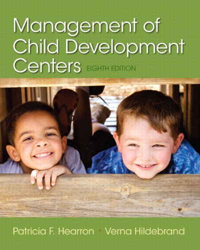 Management of Child Development Centers  8th 2015 edition cover