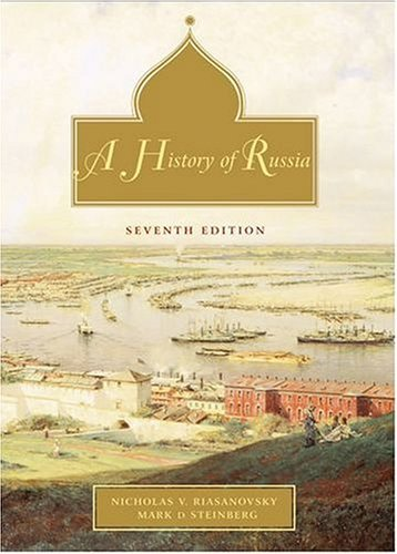 History of Russia  7th 2004 (Revised) edition cover