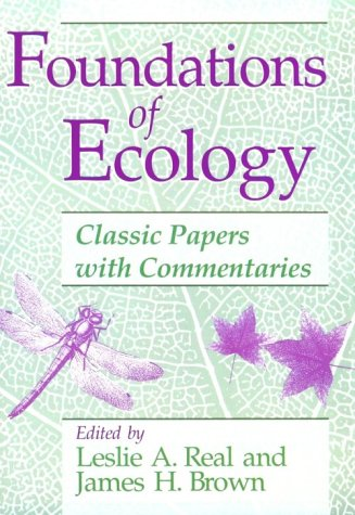 Foundations of Ecology Classic Papers with Commentaries  1991 edition cover