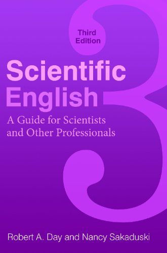 Scientific English A Guide for Scientists and Other Professionals 3rd 2011 edition cover