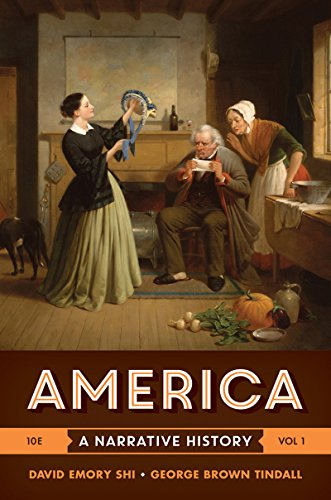 America: A Narrative History  2016 9780393265941 Front Cover