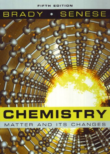Chemistry The Study of Matter and Its Changes 5th 2009 edition cover