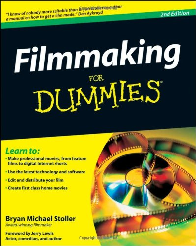 Filmmaking for Dummies�  2nd 2009 edition cover
