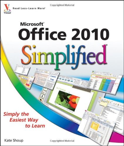 Office 2010 Simplified   2010 edition cover