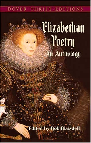 Elizabethan Poetry An Anthology  2005 edition cover