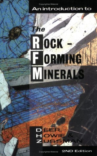 Introduction to the Rock-Forming Minerals  2nd 1992 (Revised) edition cover