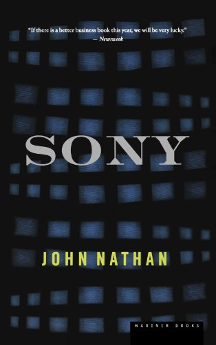 Sony   2001 edition cover