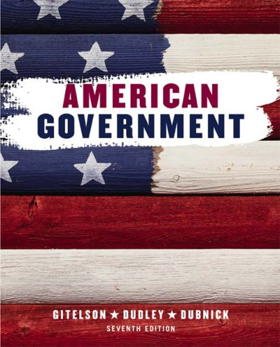 American Government  7th 2004 edition cover