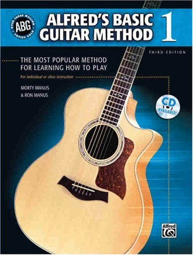 Alfred's Basic Guitar Method The Most Popular Method for Learning How to Play 3rd 1995 edition cover