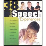 38 Basic Speech Experiences 11th 2005 edition cover