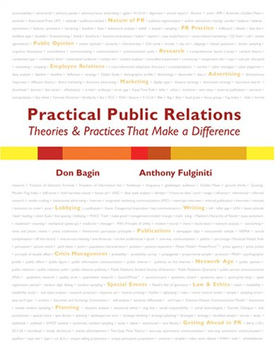 Practical Public Relations : Theories and Techniques that Make a Difference  2005 (Revised) 9780757515941 Front Cover