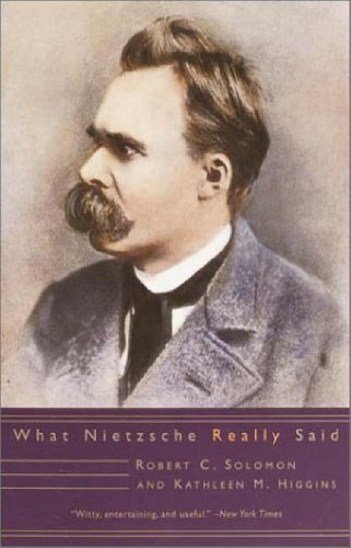 What Nietzsche Really Said  N/A edition cover