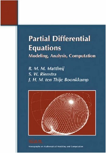 Partial Differential Equations Modeling, Analysis, Computation  2005 edition cover