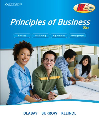 Principles of Business  8th 2012 edition cover