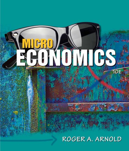 Microeconomics (with Video Office Hours Printed Access Card)  10th 2011 edition cover