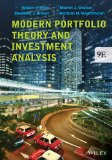 Modern Portfolio Theory and Investment Analysis:   2013 9781118469941 Front Cover