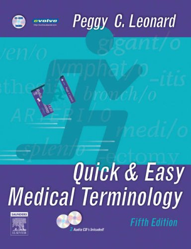 Quick and Easy Medical Terminology  5th 2007 (Revised) edition cover