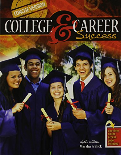 College and Career Success Concise Version - PAK  6th (Revised) edition cover