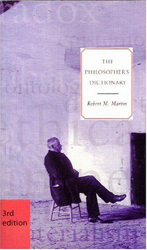 Philosopher's Dictionary  3rd 2002 (Revised) edition cover