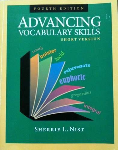 Advancing Vocabulary Skills: Short Version  2009 edition cover