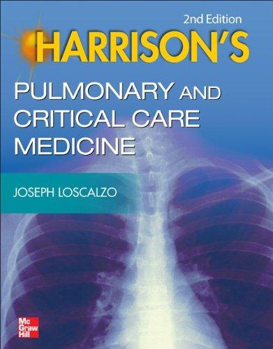 Harrison's Pulmonary and Critical Care Medicine  2nd 2013 edition cover