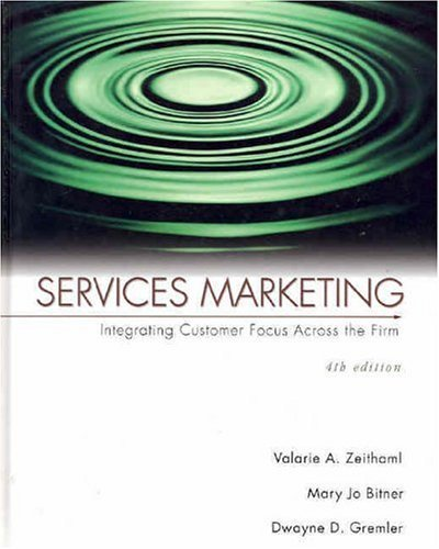 Services Marketing  4th 2006 (Revised) edition cover
