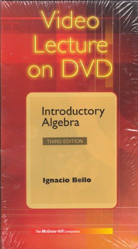 Introductory Algebra:  2008 edition cover