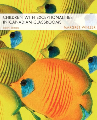 CHILDREN W/EXCEPTIONALITIES >C 8th 2007 edition cover