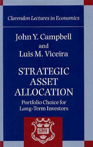 Strategic Asset Allocation Portfolio Choice for Long-Term Investors  2002 edition cover