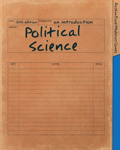 Political Science An Introduction 12th 2012 edition cover