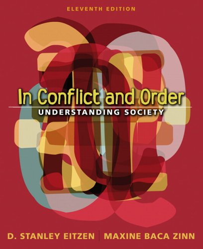 In Conflict and Order Understanding Society 11th 2007 (Revised) edition cover