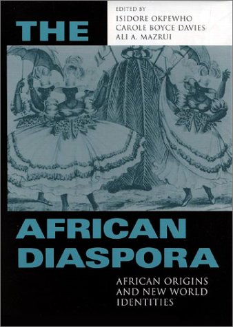 African Diaspora African Origins and New World Identities  2002 edition cover