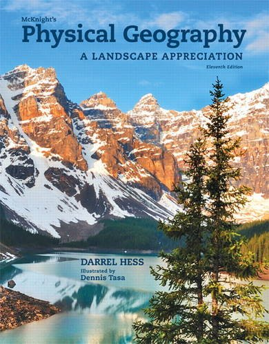 McKnight's Physical Geography A Landscape Appreciation Plus MasteringGeography with EText -- Access Card Package 11th 2014 edition cover