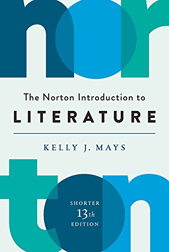 Cover art for The Norton Introduction to Literature, 13th Edition