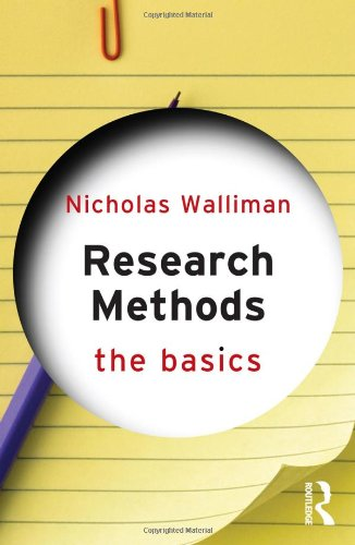 Research Methods   2011 edition cover