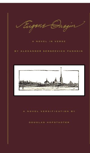 Eugene Onegin A Novel in Verse  2000 edition cover